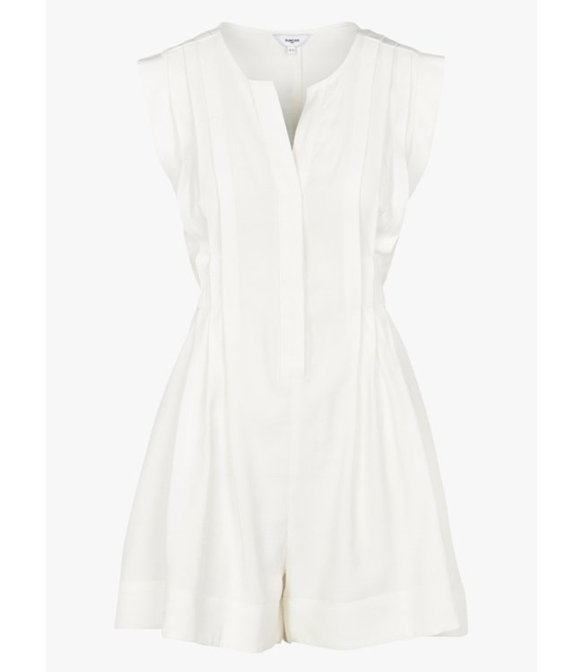 SUNCOO INES PLAYSUIT - 217 - WHITE