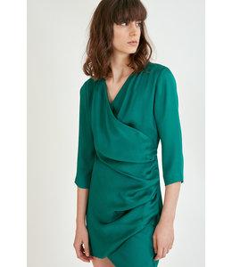 SUNCOO CYBIL DRESS - 3068 - VERT