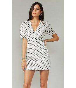 SHIRLEY DRESS - 3846 - BLK WHT
