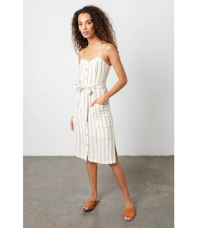 RAILS EVIE DRESS - MOJAVE STRIPE -