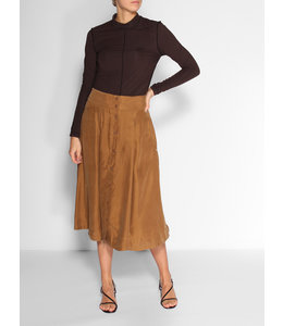 SCOTCH AND SODA MIDI LENGHT SKIRT - 997 - TAN