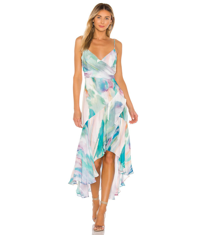 DENVER DRESS - PASTEL SWIRL -