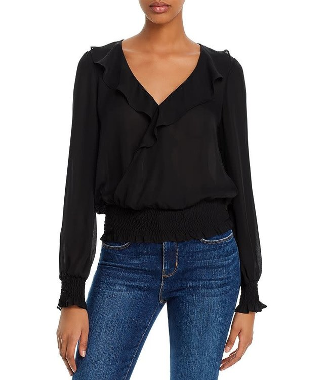 QUINCY BLOUSE - BLACK