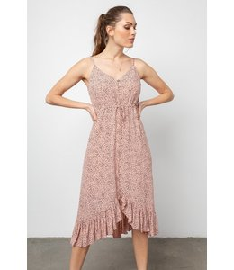 RAILS FRIDA DRESS - ROSE SPOTTED
