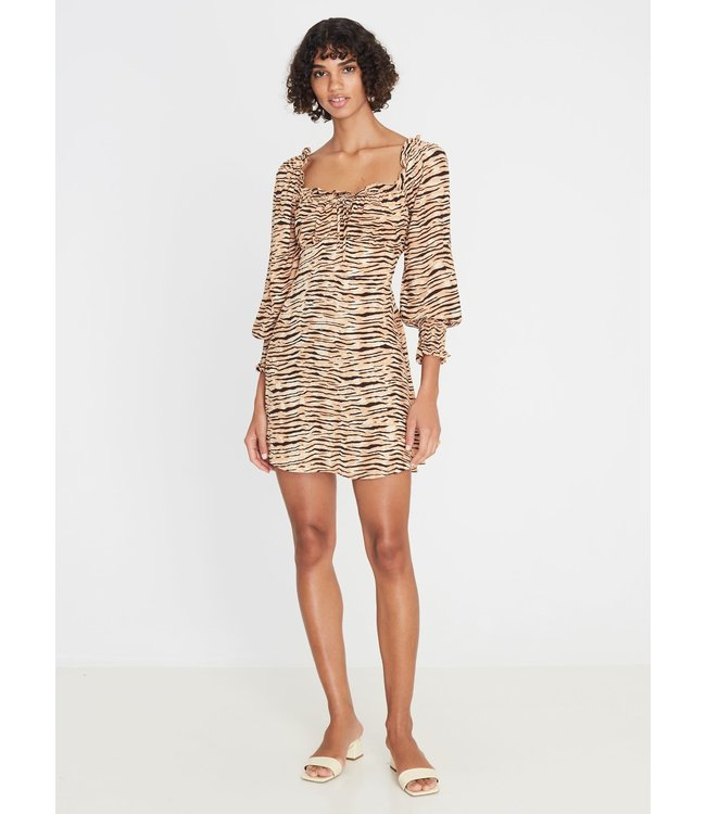 IRA MINI DRESS - ANIMAL -