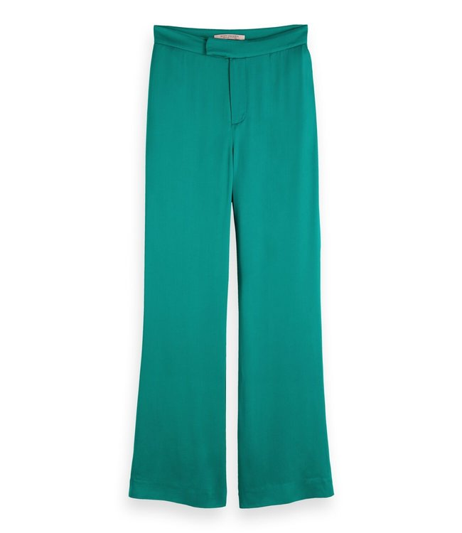 SCOTCH AND SODA FLARE PANTS - 399 - OCEAN