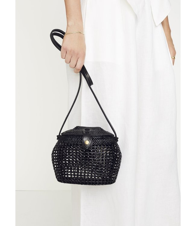 PALOMA SHOULDER BAG - BLACK