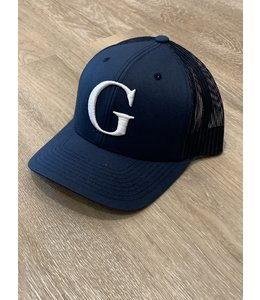 GLORIUS CAP - G-WHITE ON NAVY