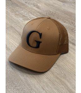 GLORIUS CAP - G-BLK ON CAMEL