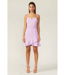 ADELYN RAE CHARLI MINI DRESS - 4624 - LILAC