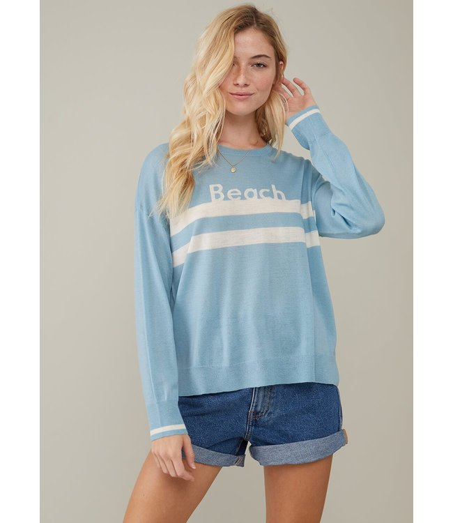 SOUTH PARADE SUSAN SWEATER - BEACH - BLUE