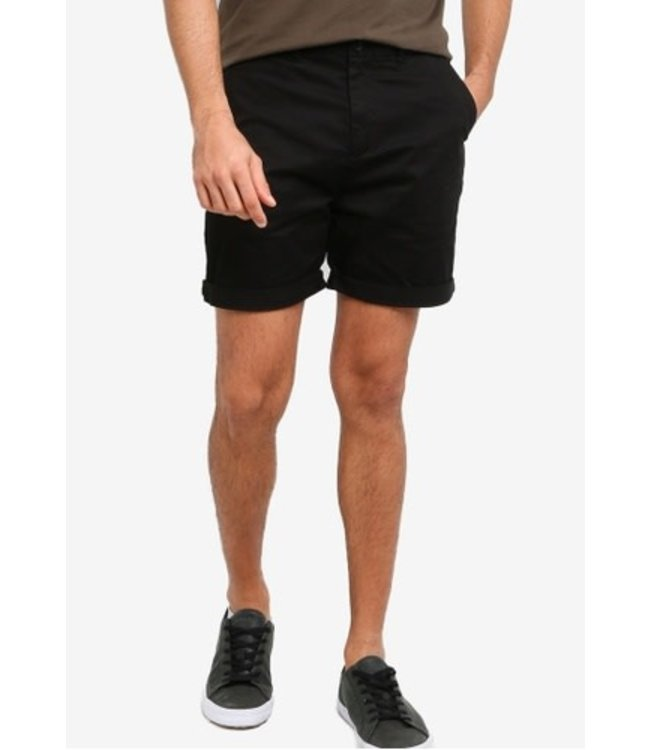 SCOTCH AND SODA CHINO SHORT NOS - BLACK -
