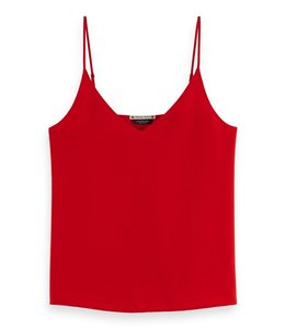 SCOTCH AND SODA JERSEY TANKTOP - 245 - RED -