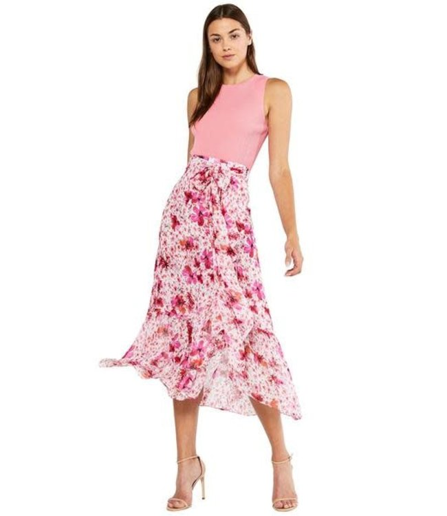 THEMIS SKIRT - PINK FLORAL
