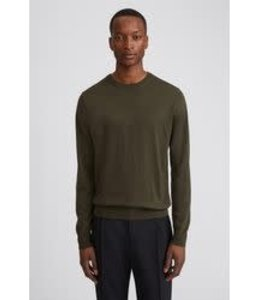 Filippa K Merino Sweater - 25965- Pine Green