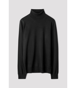 Filippa K MERINO ROLLER NECK -27193- BLACK