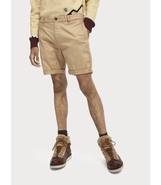 SCOTCH AND SODA CHINO SHORT NOS - BEIGE -