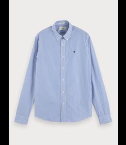 POPLIN SHIRT - 655 - BLUE