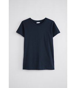Filippa K COTTON TEE 2830 -  NAVY -
