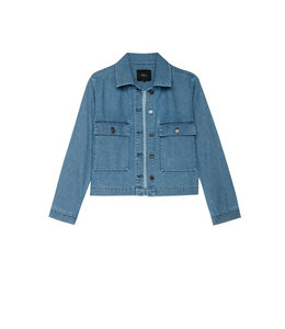 LIGHTWEIGHT DENIM JACKET- 744-450-1831 -
