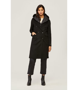 VIOLA 3 IN 1 COAT BLACK -