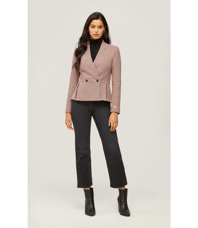 AERIN FIT AND FLARE BLAZER -