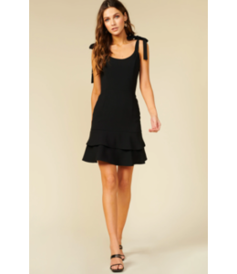 ADELYN RAE NIXI DRESS - BLACK