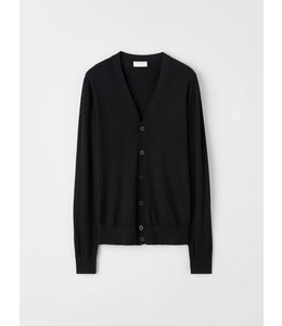TIGER OF SWEDEN NAVID CARDIGAN - BLACK -