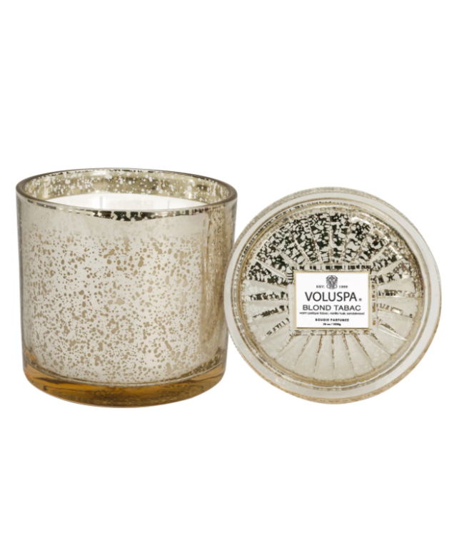 BLOND TABAC 3 WICK GRANDE MAISON CANDLE- 36 oz