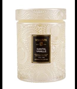 SANTAL VANILLE SMALL JAR CANDLE - 5.5 oz