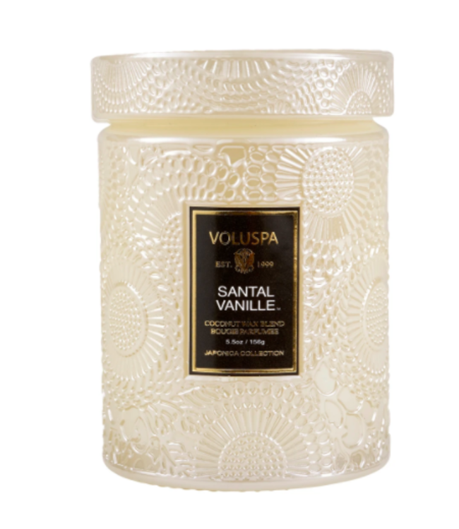 SANTAL VANILLE SMALL JAR CANDLE - 5.5 oz