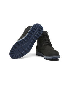 SWIMS MOTION WING TIP BOOT - BLACK/GRAY/NAVY -