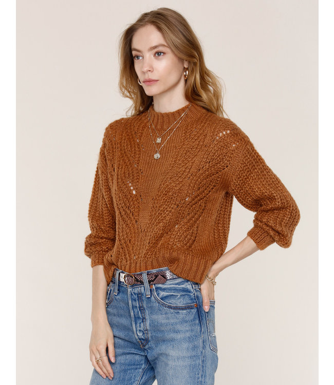 ALTHEA SWEATER - CARAMEL -
