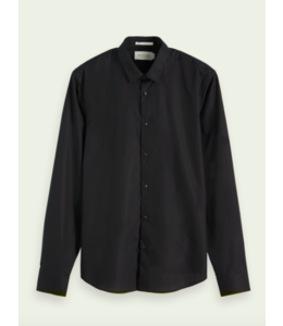 CLASSIC SLIM  SHIRT - BLACK -