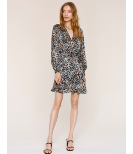 TAMI DRESS - LEOPARD -