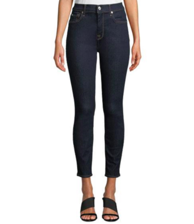 7 FOR ALL MANKIND ANKLE SKINNY JEANS - BACLEANRNS-
