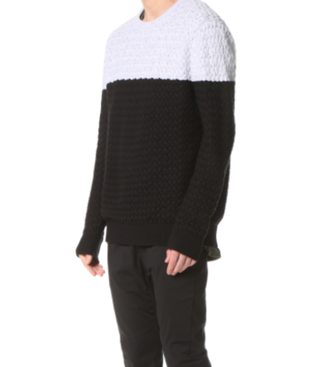 NU KNIT - BLACK SNOW MARLE