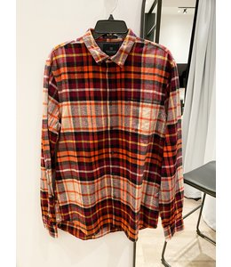 SCOTCH AND SODA FLANNEL ORANGE SHIRT - 139576