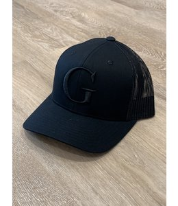 GLORIUS CAP - G-WHITE ON BLCK