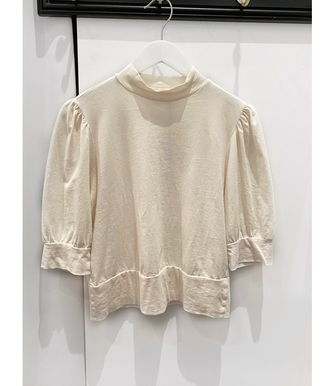 COZY LUX TOP - OFF WHITE -