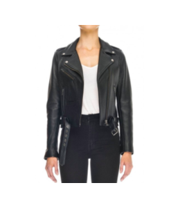 BERLIN MOTO JACKET - BLACK LEATHER