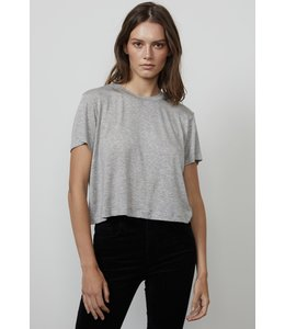 LUX GAUZE T-SHIRT - GREY -