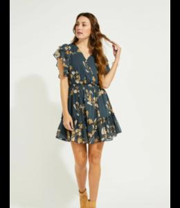 GENTLE FAWN CAROLINE DRESS - SPRUCE -