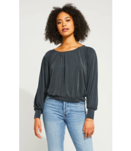 GENTLE FAWN LILITH TOP - CARBON -
