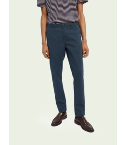 SCOTCH AND SODA MOTT CHINO - SUPER SLIM FIT - STEEL-