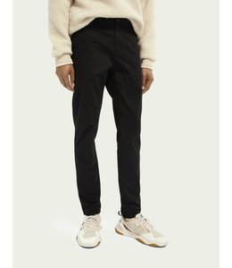 SCOTCH AND SODA MOTT CHINO- SUPER SLIM- BLACK-