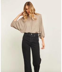 GENTLE FAWN PAIGE TOP - HEATHER FAWN -