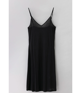 FWSS FADE INTO YOU SLIP DRESS - BLACK -