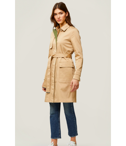 MARNI  RAINCOAT -ALMOND -