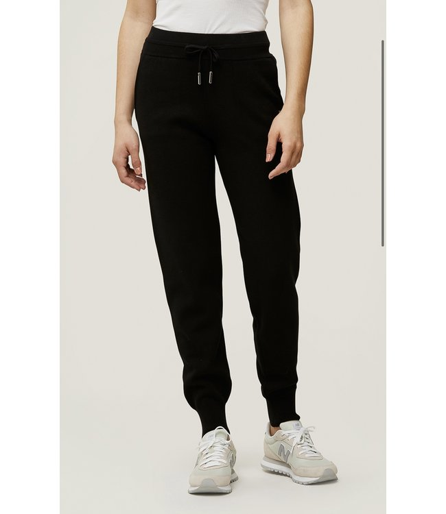 VERONA SWEATPANTS - BLACK -